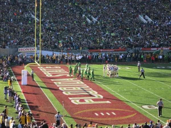 Rose Bowl, secção: 1-H, fila: 35, lugar: 107-108