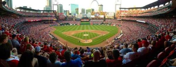 Busch Stadium , secção: 250, fila: 8, lugar: 13