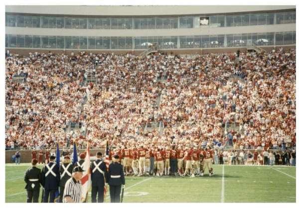 Bobby Bowden Field at Doak Campbell Stadium, secção: 10, fila: 1, lugar: WC