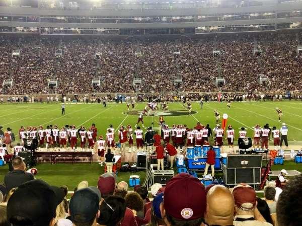 Bobby Bowden Field at Doak Campbell Stadium, secção: 10, fila: 15, lugar: 11-12