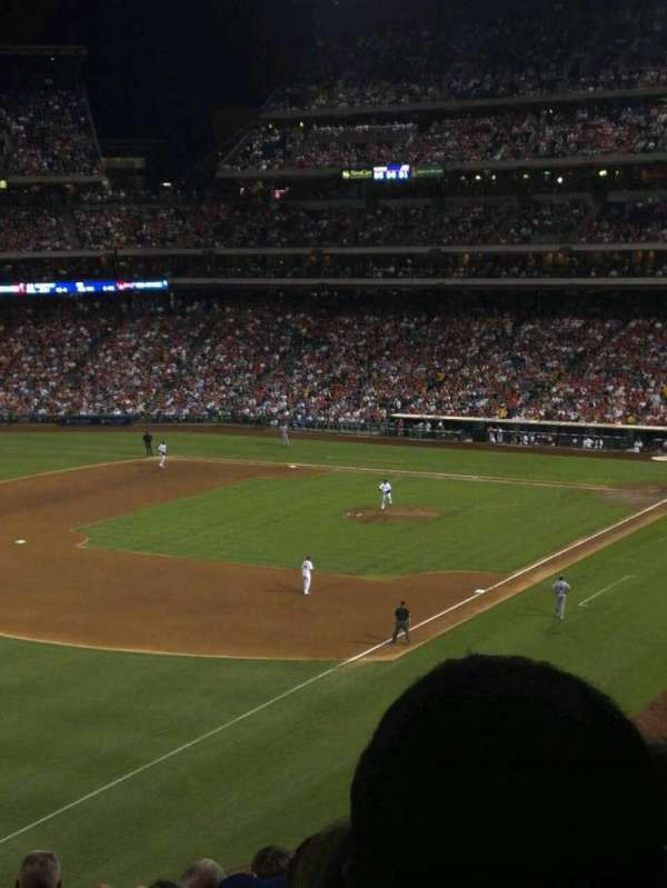 Citizens Bank Park, secção: 235, fila: 8, lugar: 14