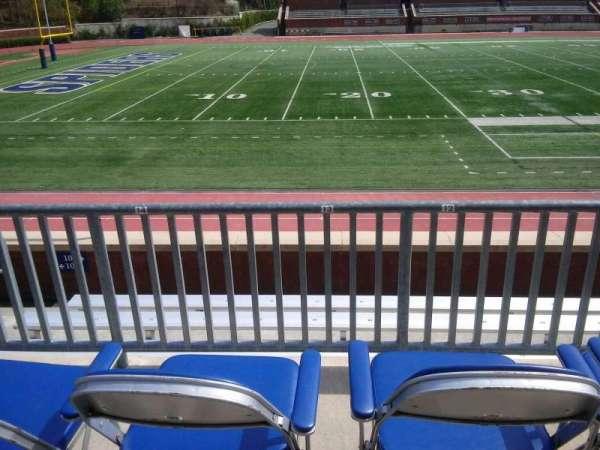 Robins Stadium, secção: 107, fila: E, lugar: 13