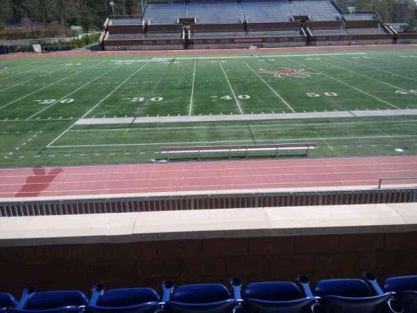 Robins Stadium, secção: 206, fila: D, lugar: 8