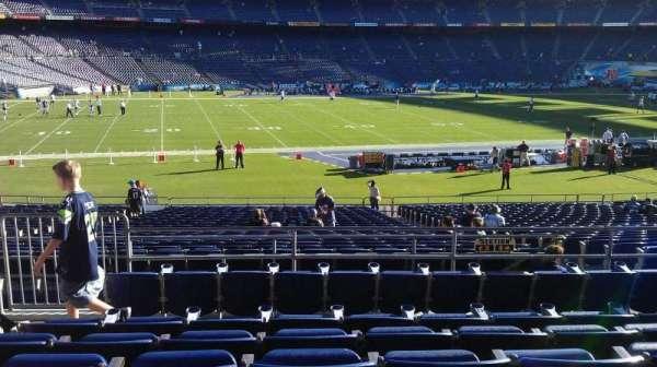 San Diego Stadium, secção: P3, fila: 6, lugar: 4