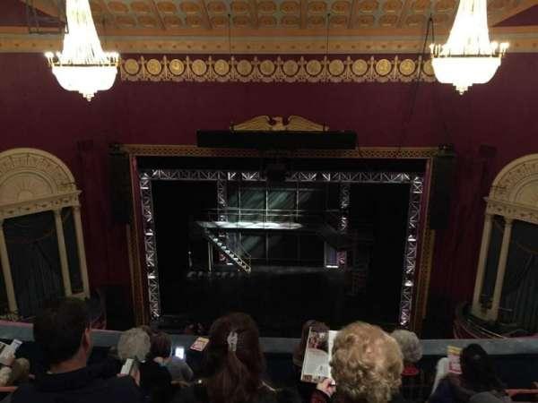National Theatre (DC), secção: Balc, fila: F, lugar: 105