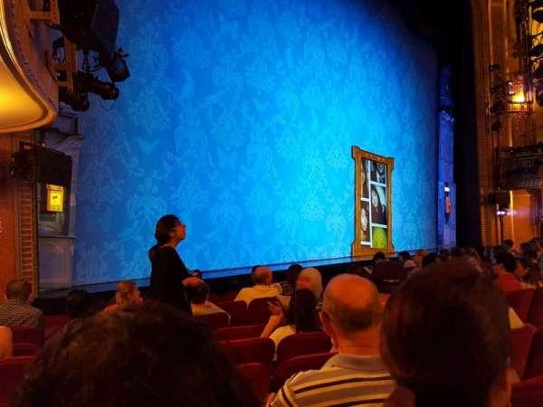 Walter Kerr Theatre, secção: Orchestra L, fila: K, lugar: 17