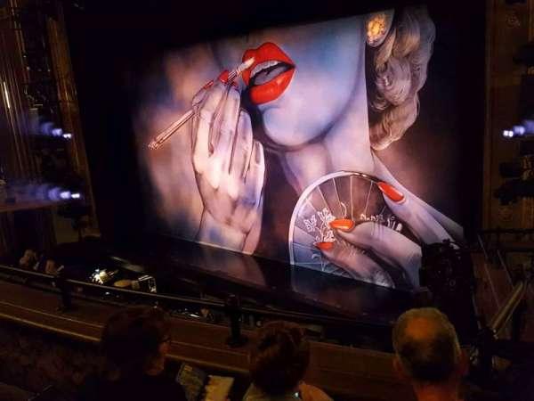 Nederlander Theatre, secção: Mezzanine R, fila: C, lugar: 24