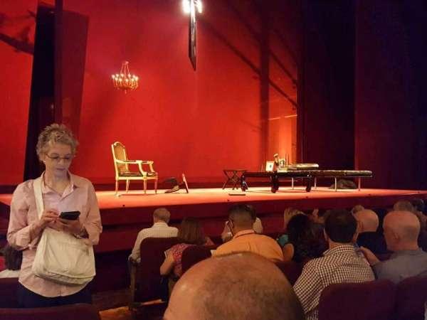 Ethel Barrymore Theatre, secção: Orchestra L, fila: E, lugar: 3
