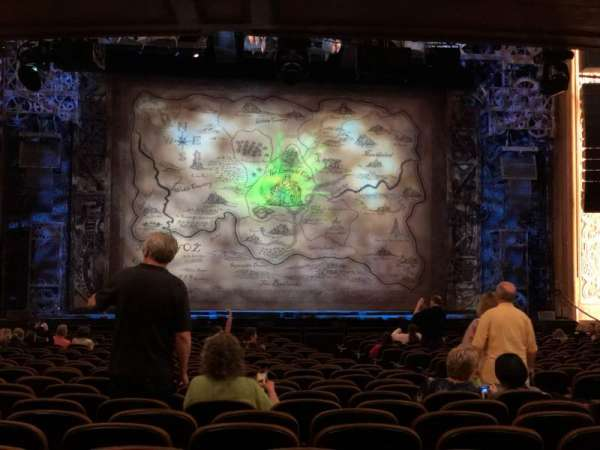 Paramount Theatre (Seattle), secção: Mf3, fila: Bb, lugar: 5