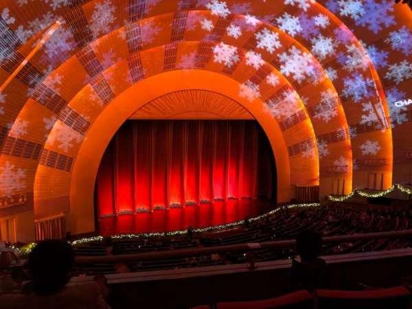 Radio City Music Hall, secção: 2nd Mezzanine 6, fila: C, lugar: 614