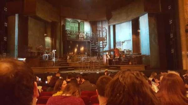 Walter Kerr Theatre, secção: Orchestra, fila: M, lugar: 110