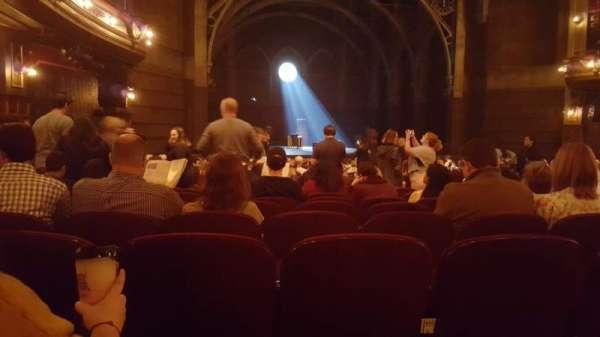Lyric Theatre, secção: Orchestra L, fila: S, lugar: 21