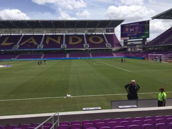 Exploria Stadium, secção: 12, fila: J, lugar: 15