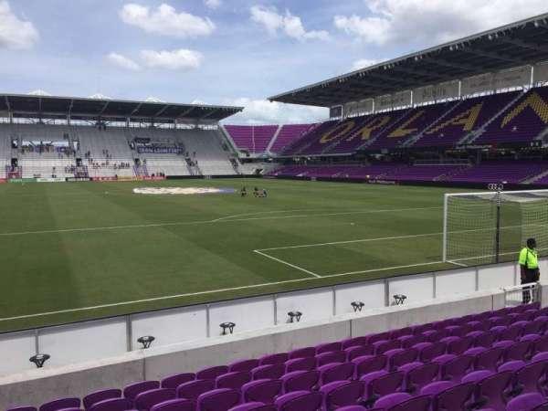 Exploria Stadium, secção: 5, fila: K, lugar: 18