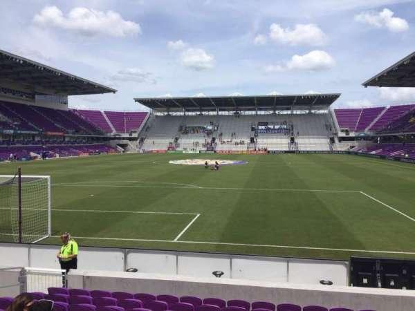 Exploria Stadium, secção: 3, fila: K, lugar: 16