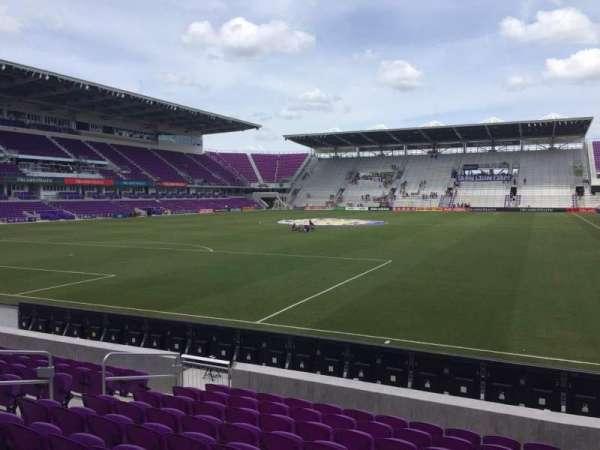 Exploria Stadium, secção: 2, fila: K, lugar: 12