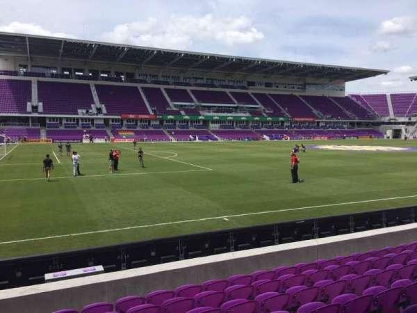 Exploria Stadium, secção: 37, fila: H, lugar: 23