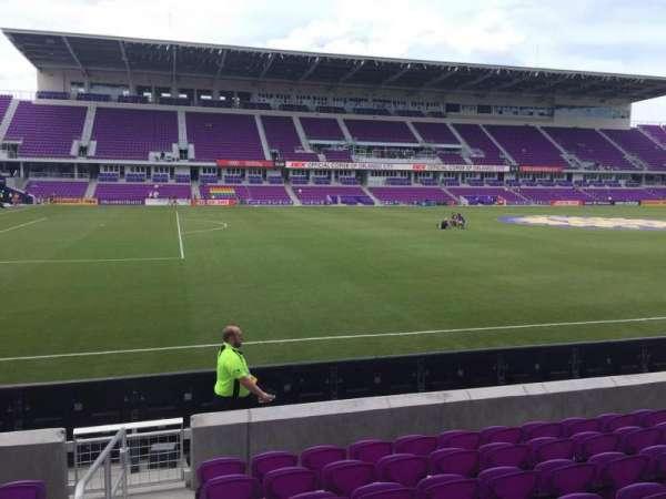 Exploria Stadium, secção: 36, fila: H, lugar: 26