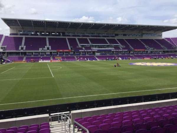 Exploria Stadium, secção: 37, fila: L, lugar: 1
