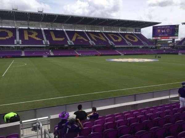 Exploria Stadium, secção: 19, fila: J, lugar: 1