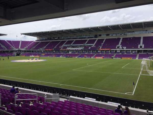 Exploria Stadium, secção: 30, fila: M, lugar: 2