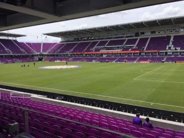 Exploria Stadium, secção: 31, fila: M, lugar: 02