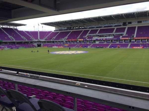 Exploria Stadium, secção: 32, fila: M, lugar: 02