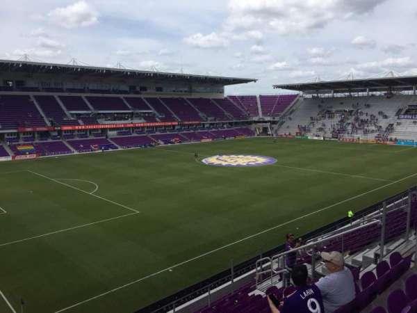 Exploria Stadium, secção: 138, fila: H, lugar: 14