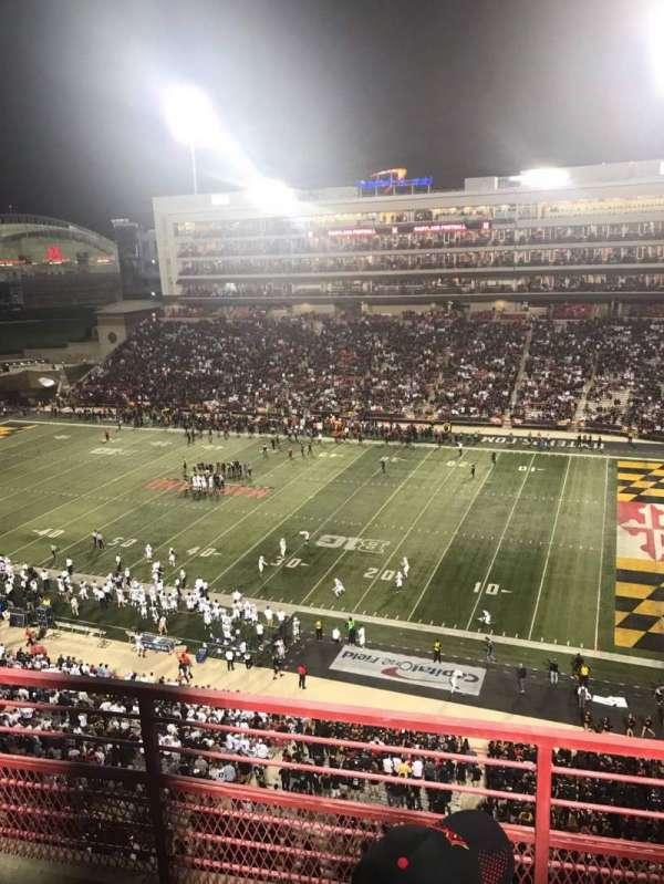 Maryland Stadium, secção: 310, fila: C, lugar: 10