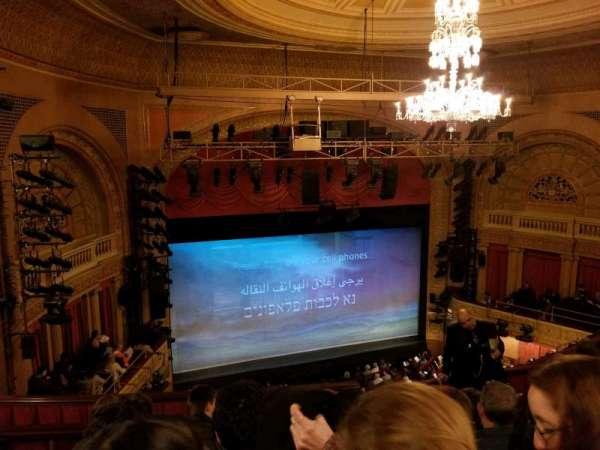 Ethel Barrymore Theatre, secção: Rear Mezzanine L, fila: E, lugar: 11