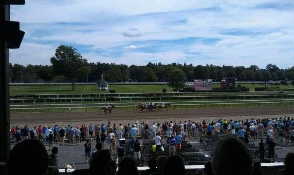 Saratoga Race Course, secção: X, fila: P, lugar: 17