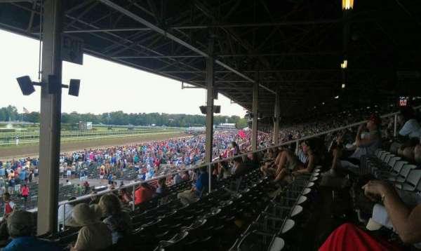 Saratoga Race Course, secção: X, fila: P, lugar: 18
