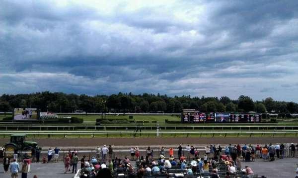 Saratoga Race Course, secção: P, fila: L, lugar: 20