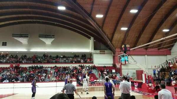 Chase Family Arena, secção: 107, fila: E, lugar: 6