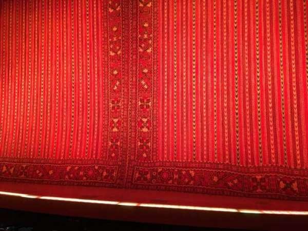 New Amsterdam Theatre, secção: Orchestra C, fila: E, lugar: 101