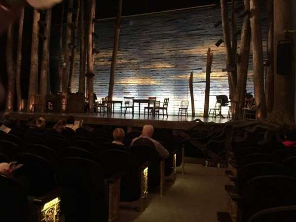 Gerald Schoenfeld Theatre, secção: Orchestra R, fila: H, lugar: 2