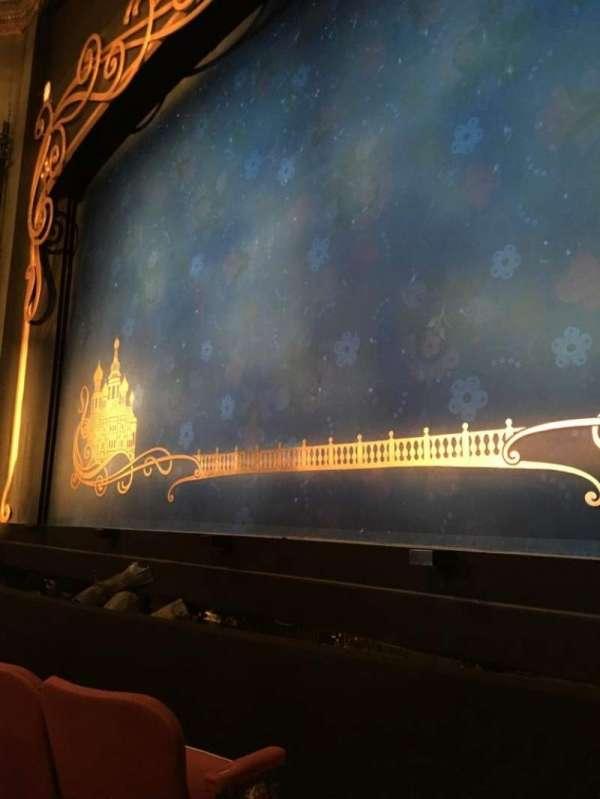 Broadhurst Theatre, secção: Orchestra R, fila: C, lugar: 2