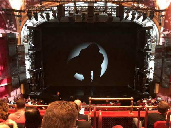 Broadway Theatre - 53rd Street, secção: Front Mezzanine LC, fila: D, lugar: 102