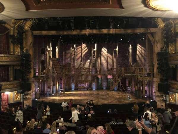 Richard Rodgers Theatre, secção: Orchestra C, fila: Q, lugar: 106