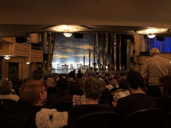 Gerald Schoenfeld Theatre, secção: Orchestra C, fila: R, lugar: 17