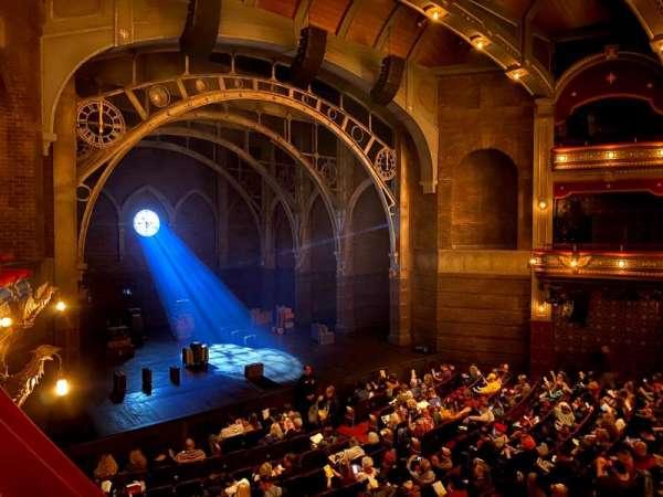 Lyric Theatre, secção: Dress Circle L, fila: A, lugar: 21