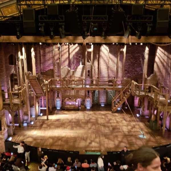 Richard Rodgers Theatre, secção: Front Mezzanine C, fila: C, lugar: 109