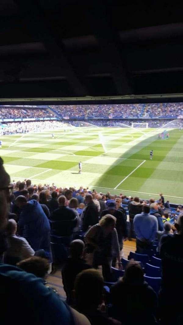 Stamford Bridge, secção: Matthew Harding Upper 10, fila: EE, lugar: 0302
