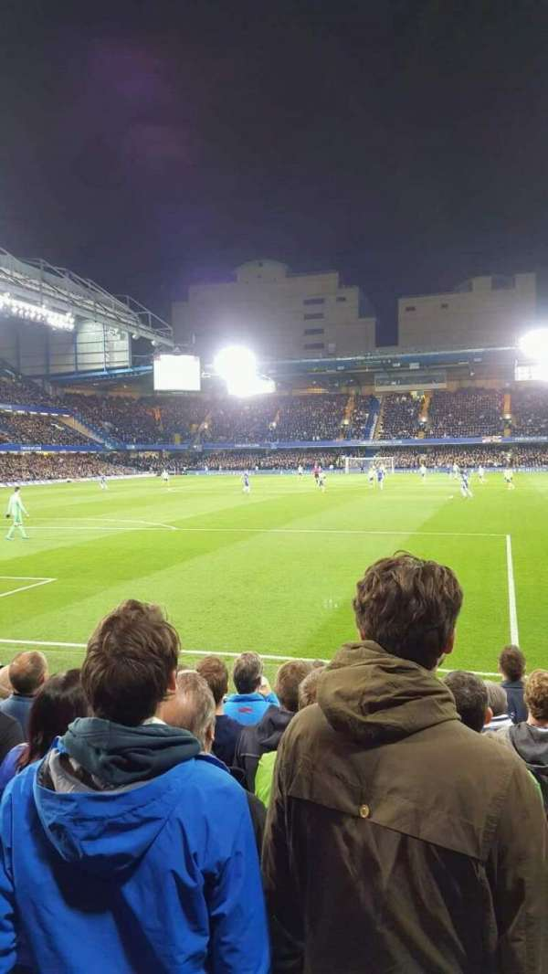 Stamford Bridge, secção: Matthew Harding Lower 11, fila: K, lugar: 036