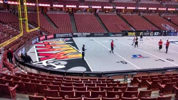 Honda Center, secção: 225, fila: G, lugar: 5