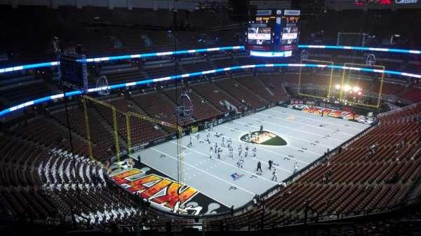 Honda Center, secção: 440, fila: N, lugar: 8