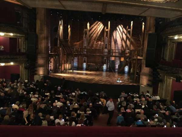 CIBC Theatre, secção: Dress Circle R, fila: A, lugar: 226