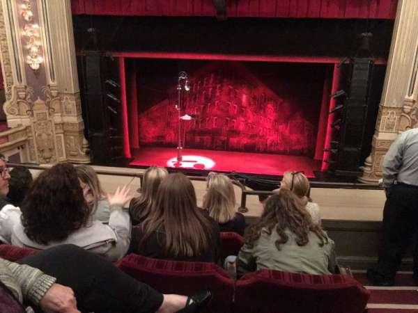 Nederlander Theatre (Chicago), secção: LOGE C, fila: D, lugar: 310