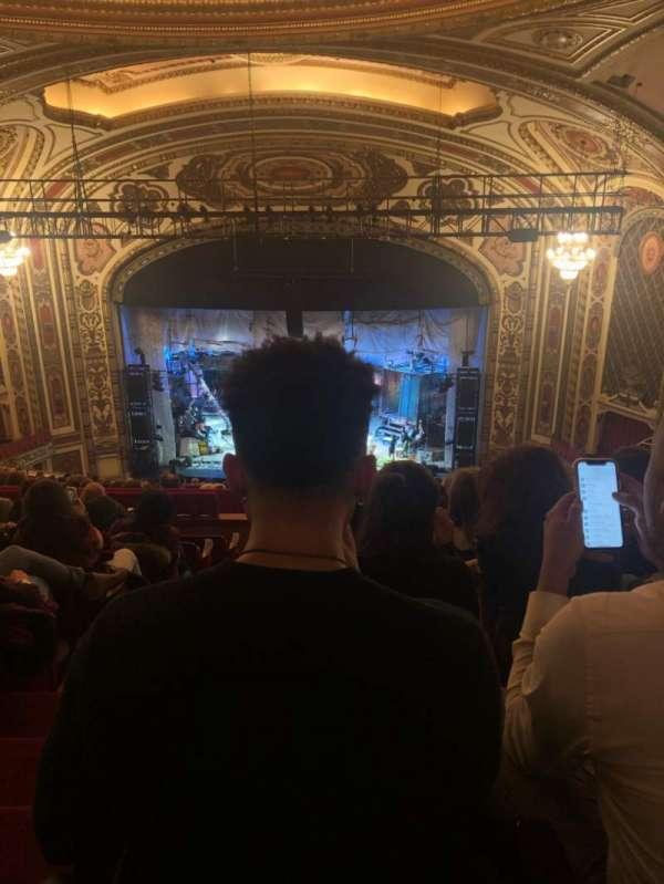 Cadillac Palace Theater, secção: Balcony RC, fila: S, lugar: 321