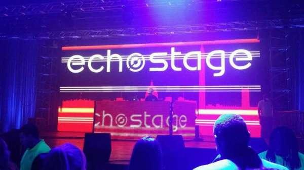 EchoStage, secção: GA, fila: GA, lugar: GA